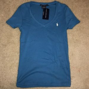 Ralph Lauren Sport Blue Tshirt Vneck